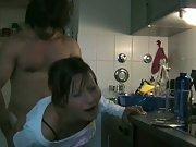 Notgeil in kitchen